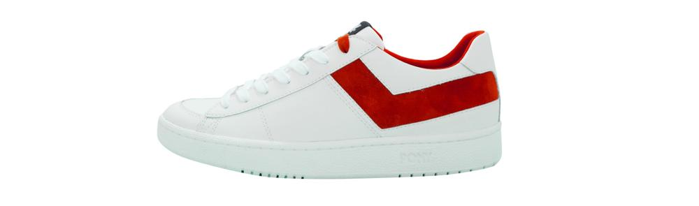 PONY White Red