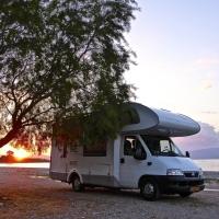 Viaggio lungo in camper