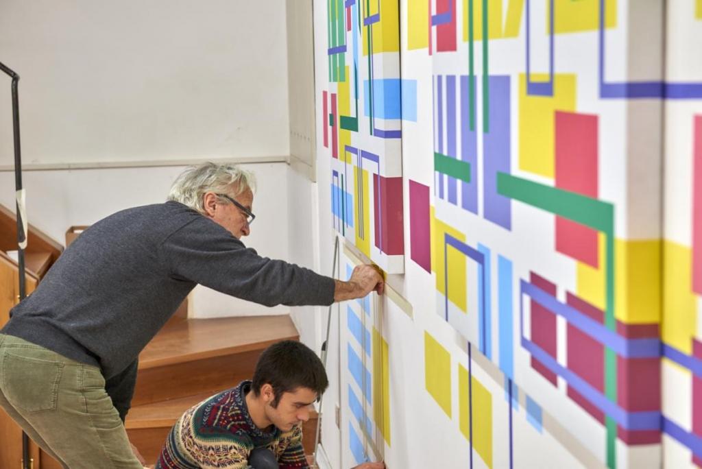 RES EXTENSA personale di Iler Melioli - dettagli - dal 2 dicembre al 22 gennaio a Vicenza - foto Lorenzo Ceretta