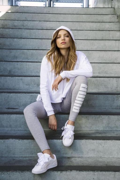 scarpe puma bianche fiocco