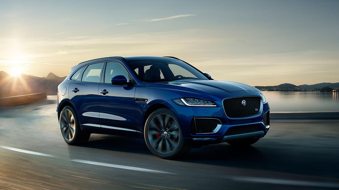 Jaguar F Pace suv 2016