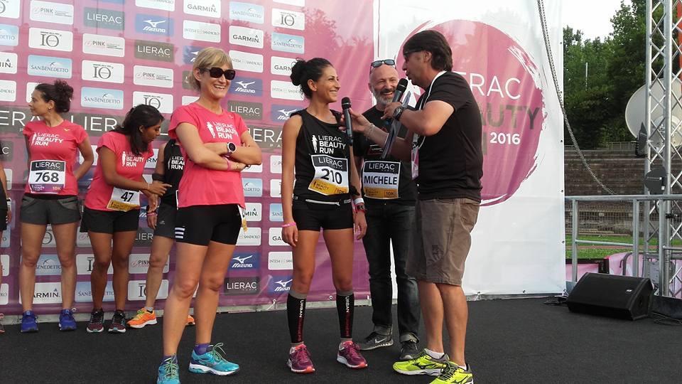 Running - Lierac Beauty Run