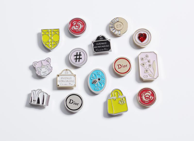 my lady dior bag pins customize