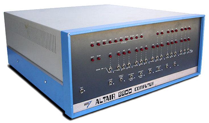 primo pc da casa Altair 8800