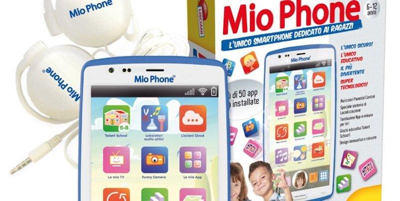 smartphone per bambini mio phone