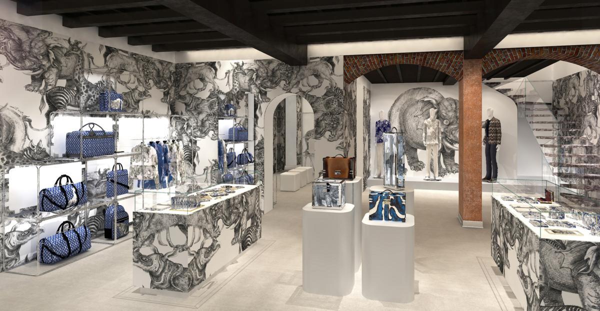 Pop-up store Louis Vuitton Milano