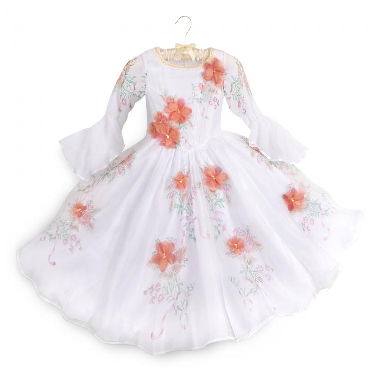 Costume bianco bimbi Deluxe Celebration Belle - 80 euro