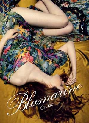 Blumarine Cruise Campaign by Harri Peccinotti