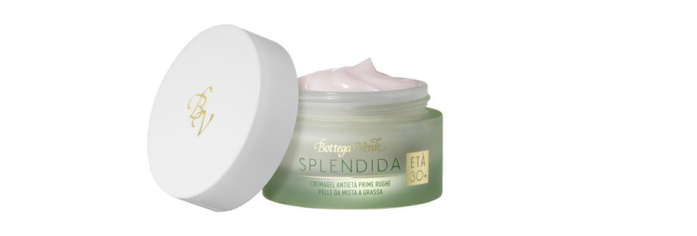 Bottega Verde - Splendida - Crema gel viso antietà pelle grassa
