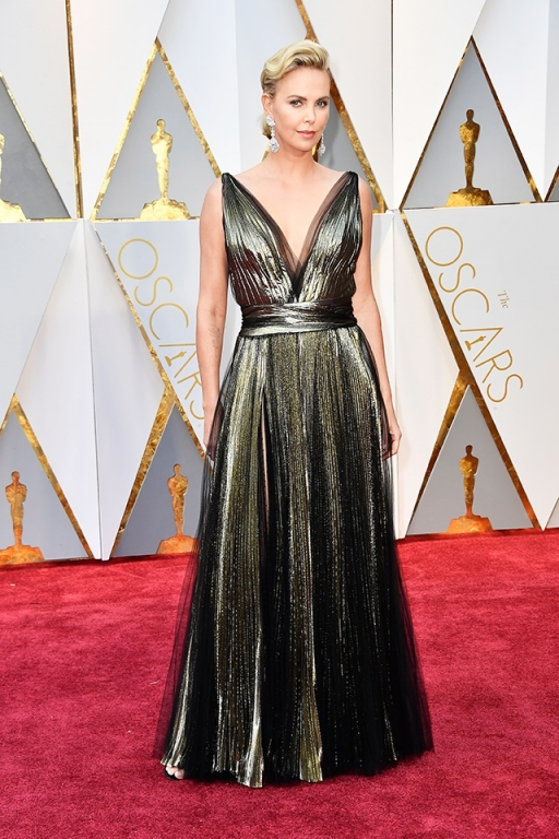 Charlize Theron wearing Chopard