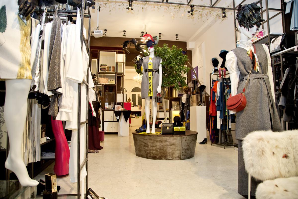 MAD Zone - il concept store dei designers ermergenti- via Brera 2 Milano - foto Marco Barbaro