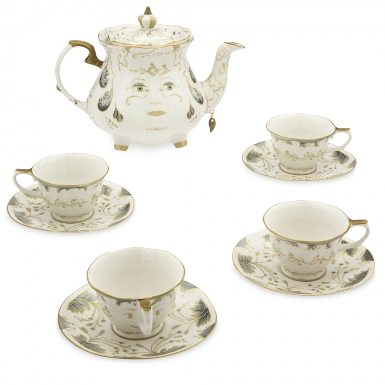 Set da tè in porcellana Limited Edition - 250 euro