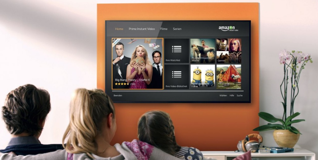 app streaming amazon prime video