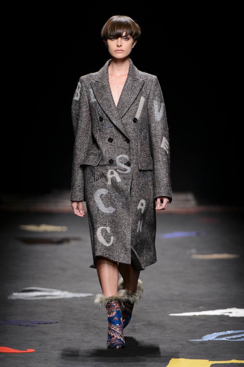 maurizio pecoraro sfilata fall winter 2017 18 fashion times