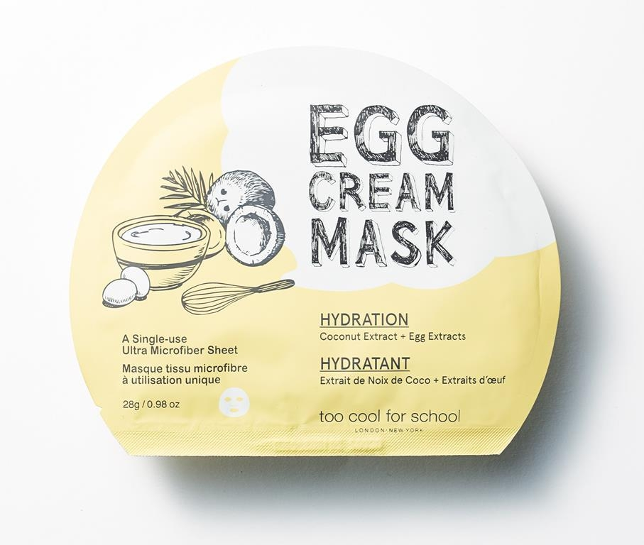 Egg Cream Mask Hydratation