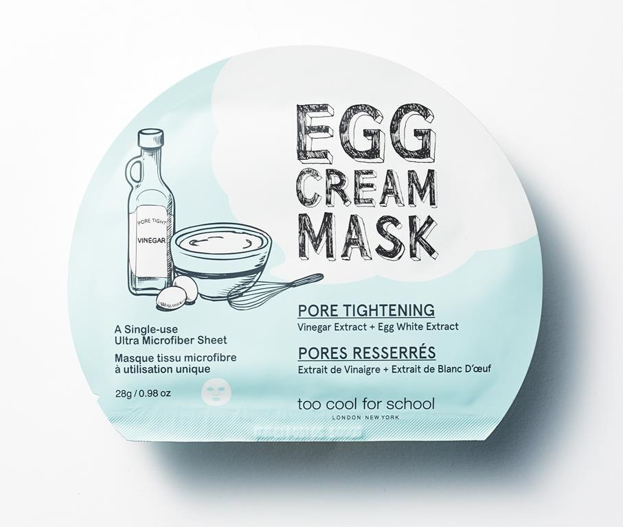 Egg Cream Mask Pore Tightening