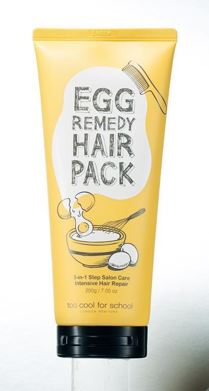 Egg Remedy Hair Pack