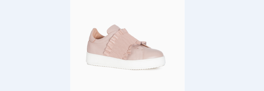 twin set sneakers rouches