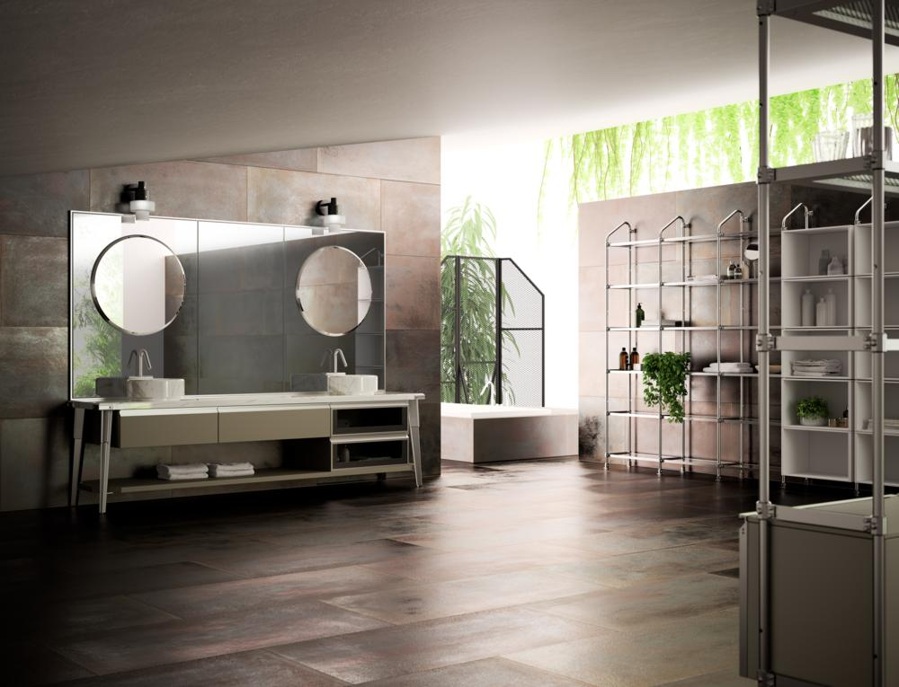 Scavolini e diesel al fuorisalone 2017 fashion times for V bathroom opening hours