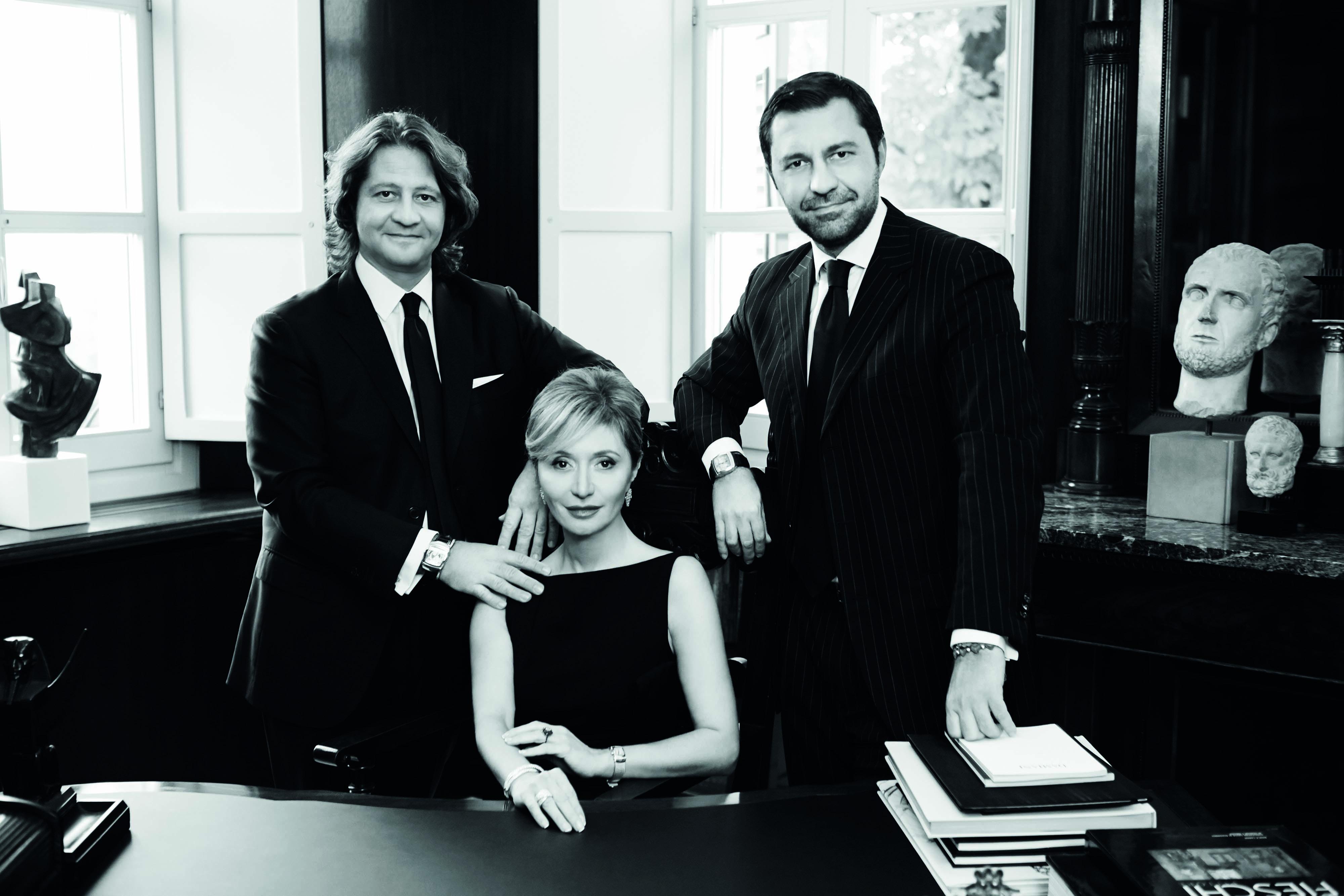 Guido, Silvia e Giorgio Damiani