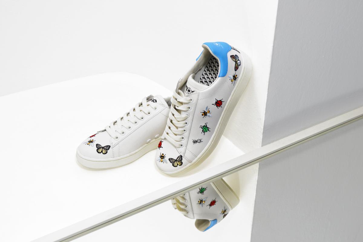 Sneakers  arrivano gli insetti con MOA Master of Arts  22eb9c9a6ca