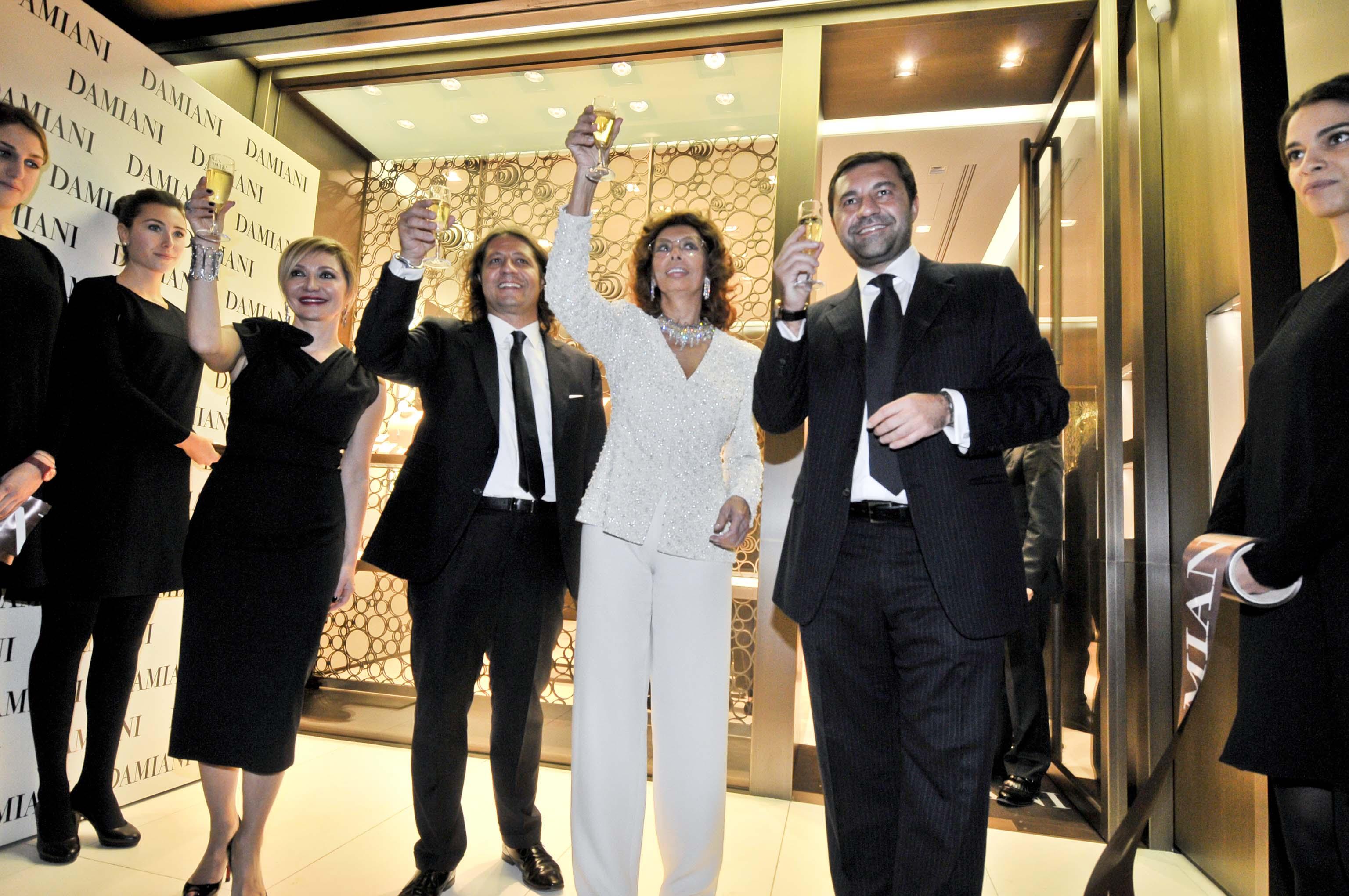 Cocktail boutique Damiani. Roma 20 novembre