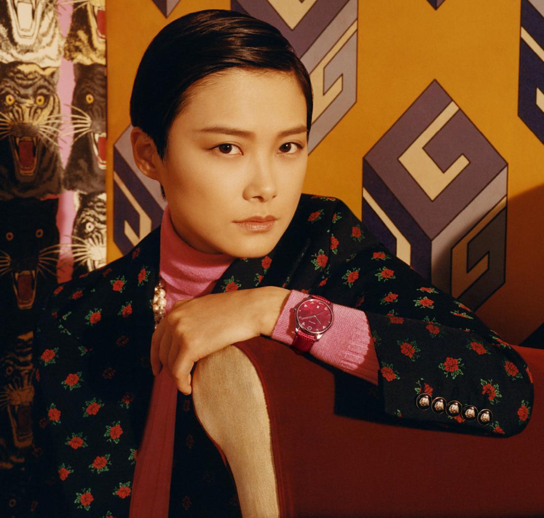 Chris Lee per Gucci orologi e gioielli