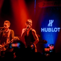 Depeche Mode private concert for Hublot during Baselworld