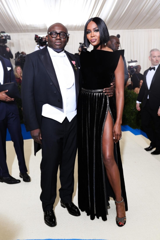 Edward Enninful, Naomi Campbell in Burberry