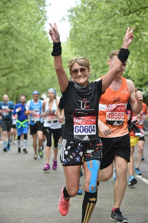 Greta Vittori sport editor Fashion Times - Maratona di Londra 2017