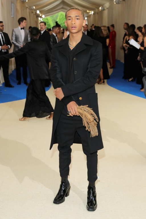 Jaden Smith in Louis Vuitton (Photo by Neilson Barnard/Getty Images)