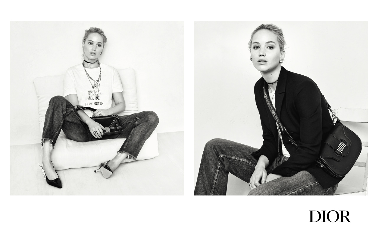 Jennifer Lawrence per Dior & J'Adior