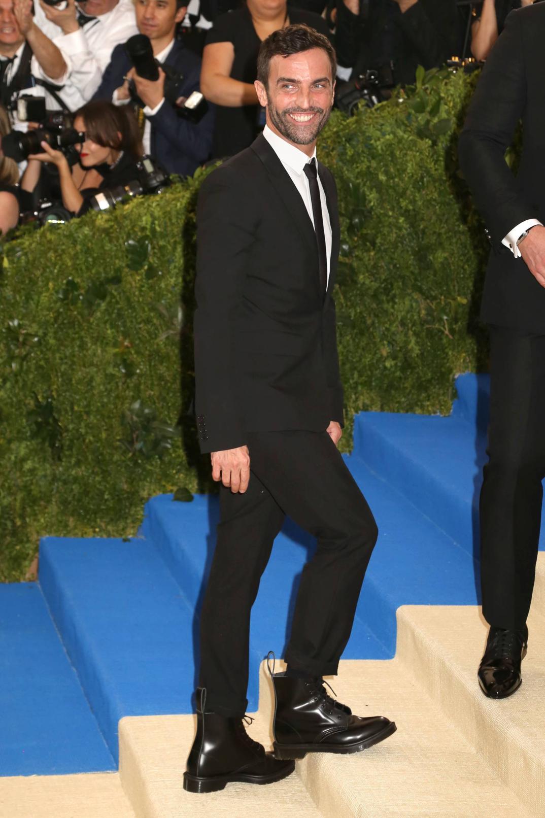 Nicolas Ghesquiere in Louis Vuitton
