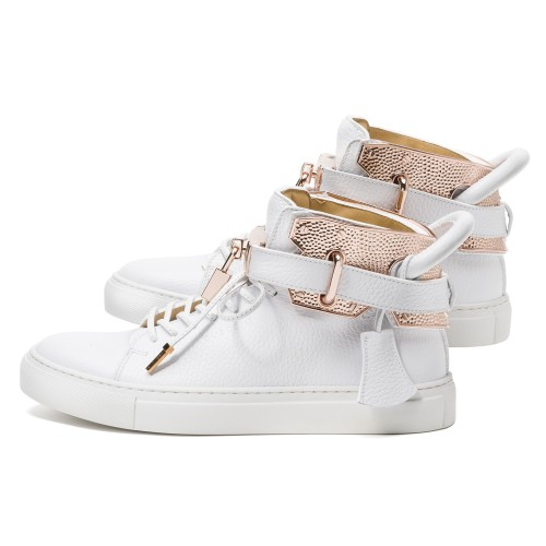 buscemi 100mm hammer cage I white