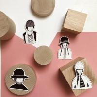 Buh Lab i bijoux illustrati creati da Francesca Giordano