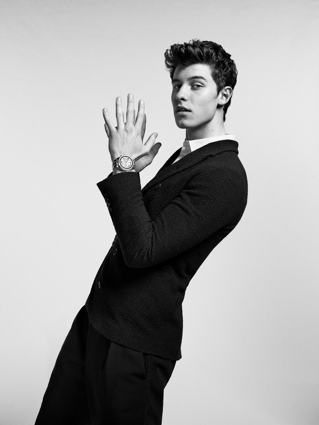 EMPORIO ARMANI SHAWN MENDES COME TOGETHER TO LAUNCH THE FIRST TOUCHSCREEN SMARTWATCH COLLECTION