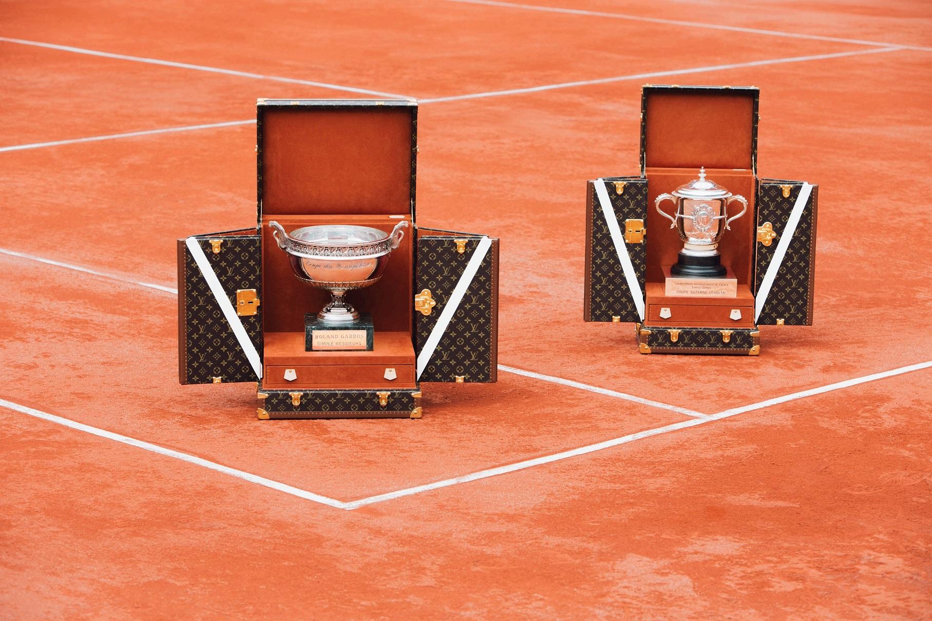 Louis Vuitton Roland Garros baule trofeo