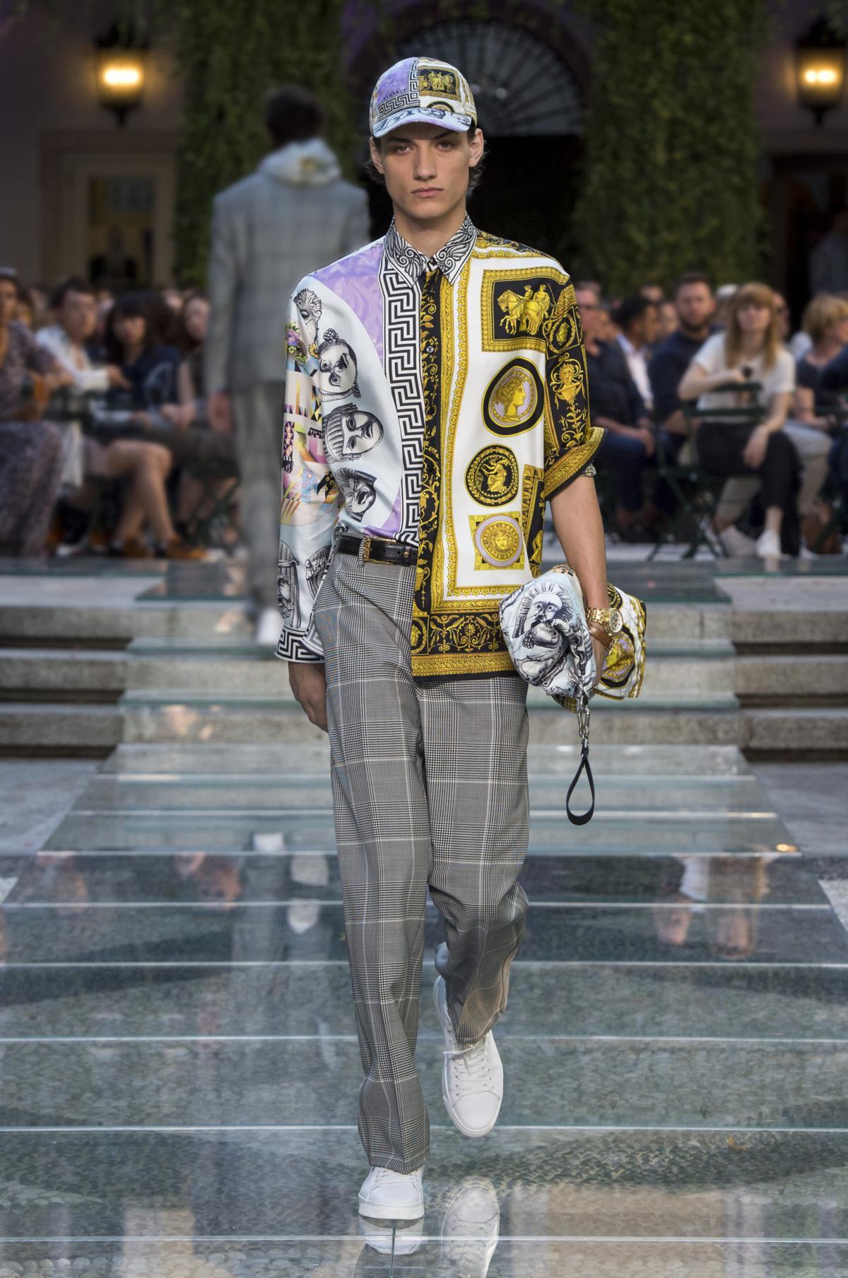 Versace Uomo Primavera-Estate 2018