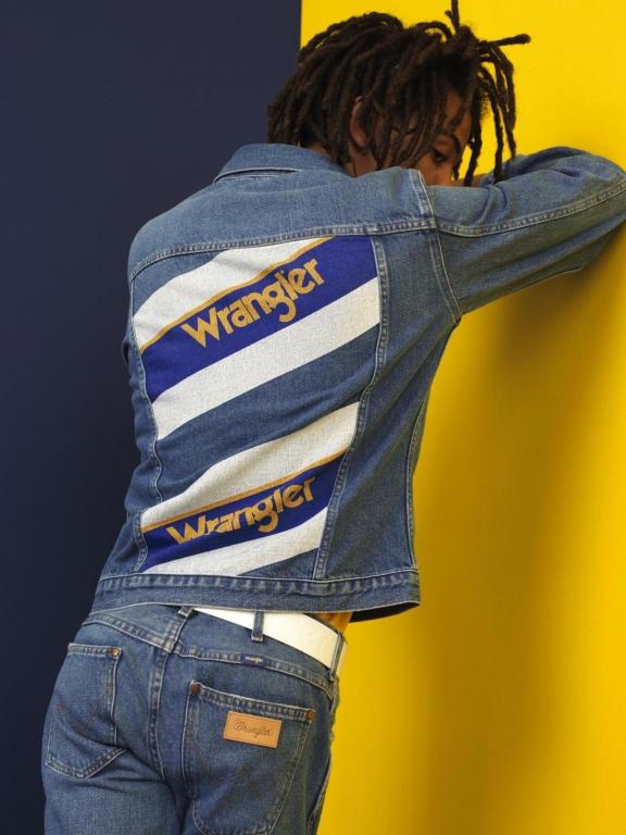 Wrangler - Blue & Yellow