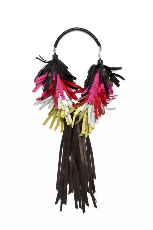 My Golden Cage bird necklace