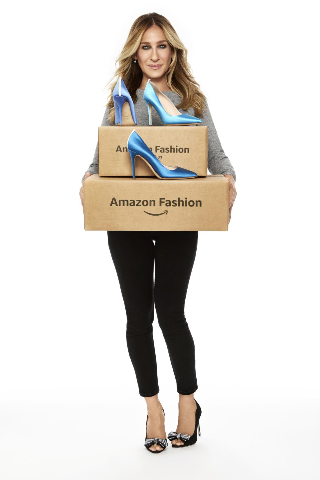 Sarah Jessica Parker: shoes collection per Amazon Moda ...
