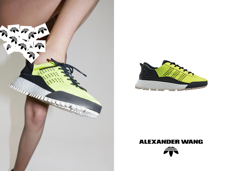pantaloni adidas alexander wang