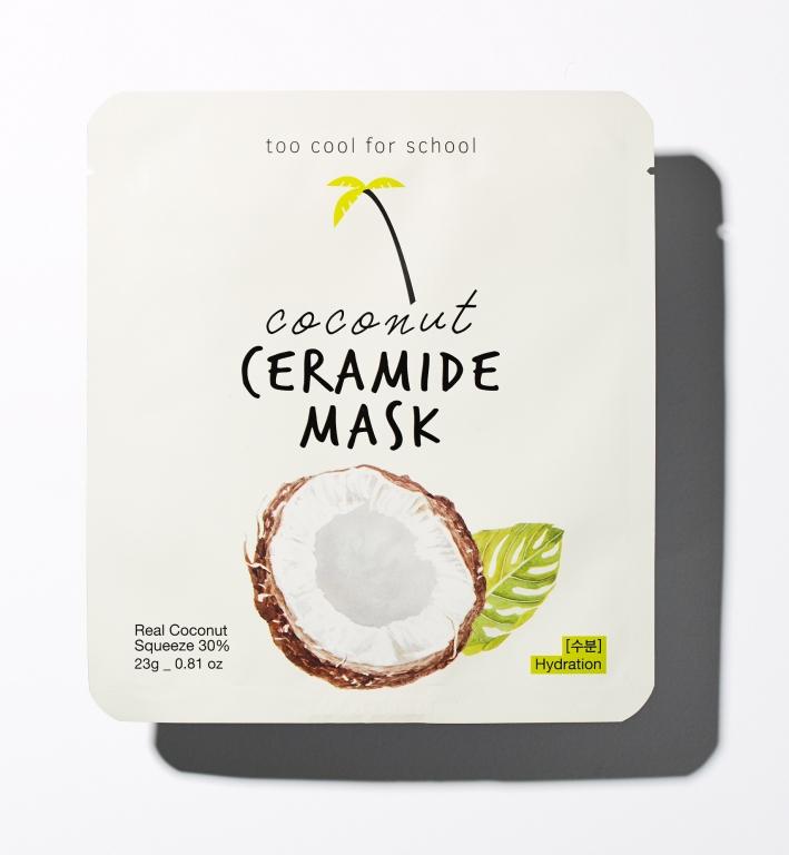Maschera idratante a base di acqua di cocco e ceramidi - Too Cool For School