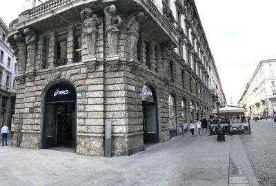 Asics negozio Milano