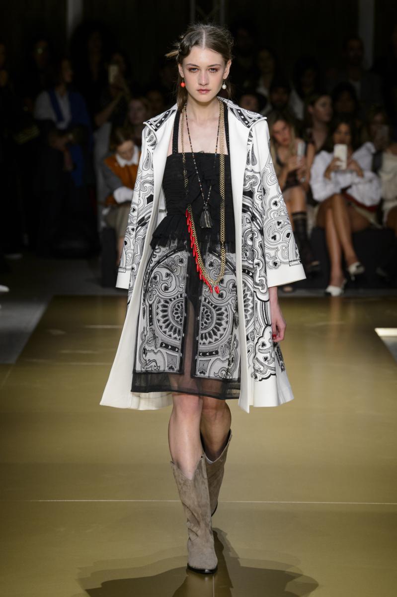 Milano fashion week les copains spring summer 2018 for Fashion week milano 2018