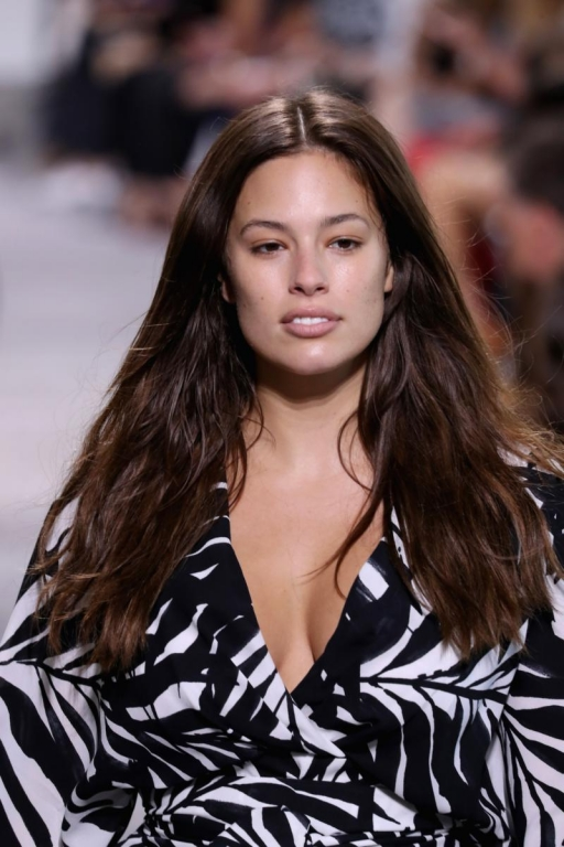 NEW YORK, NY - SEPTEMBER 13:  Ashley Graham walks the runway for Michael Kors Collection Spring 2018 Runway Show at Spring Studios on September 13, 2017 in New York City.  (Photo by JP Yim/Getty Images for Michael Kors)