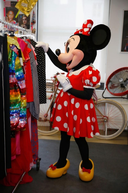 NEW YORK, NY - SEPTEMBER 06:  Minnie Mouse at Refinery29 on September 6, 2017 in New York City.  (Photo by Thos Robinson/Getty Images for Disney)