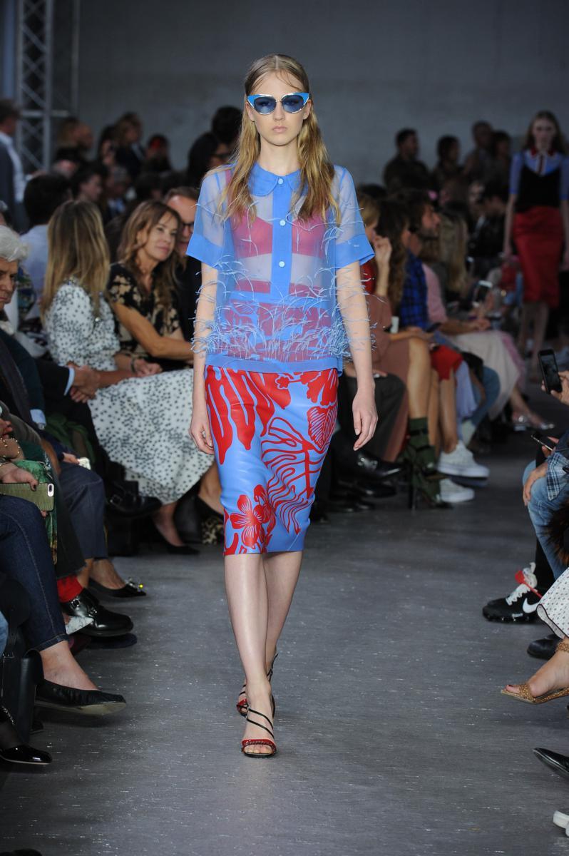 Milano moda donna sfilata primavera estate 2018 for Mode milano