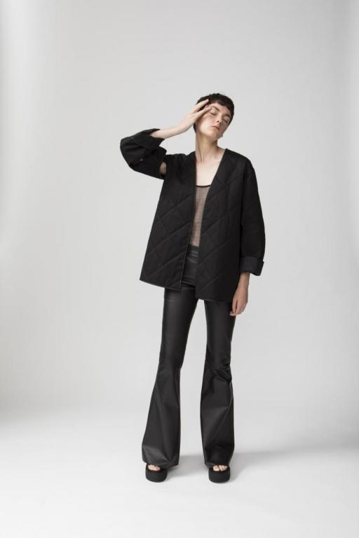 Twins Florence preview SS2018 - il nuovo capospalla leggero è ispirato all'imbottitura interna delle giacche dei pescatori - ph. Luca Merli