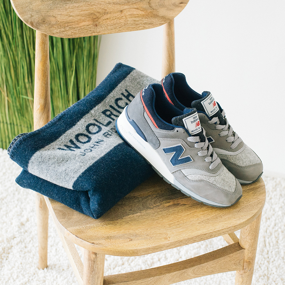 New Balance x Woolrich: 997 new limited edition   Fashion Times